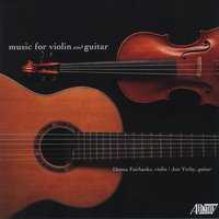Music for Violin and Guitar — Various Composers, Donna Fairbanks, Jon Yerby