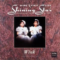 Wink First Live Shining Star - Dreamy Concert Tour on 1990 - — Wink