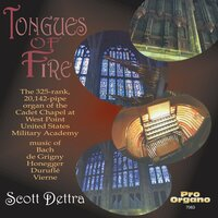 Tongues of Fire — Scott Dettra, Men of Fuma Sacra, Иоганн Себастьян Бах