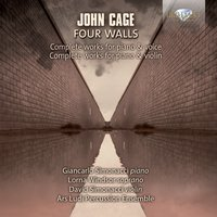 Cage: Complete Works for Piano & Voice and Piano & Violin — David Simonacci, Giancarlo Simonacci, Lorna Windsor & Ars Ludi Percussion Ensemble, John Cage