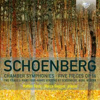 Schoenberg Chamber Symphonies, Five Pieces, Op. 16 — Арнольд Шёнберг, Matteo Fossi & Marco Gaggini
