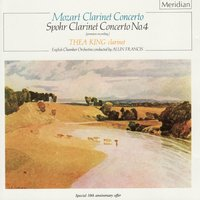 Mozart: Clarinet Concerto / Spohr: Clarinet Concerto No. 4 — English Chamber Orchestra, Alun Francis, Thea King, Вольфганг Амадей Моцарт, Луи Шпор