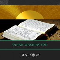 Sheet Music — Dinah Washington & Brook Benton, Dinah Washington, Dinah Washington & Brook Benton