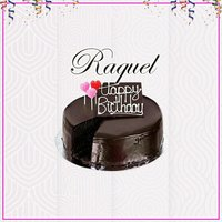Happy Birthday — Raquel
