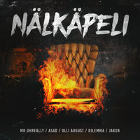 Nälkäpeli — Jakob, Dilemma, Asad, Mr. OhReally, Olli August