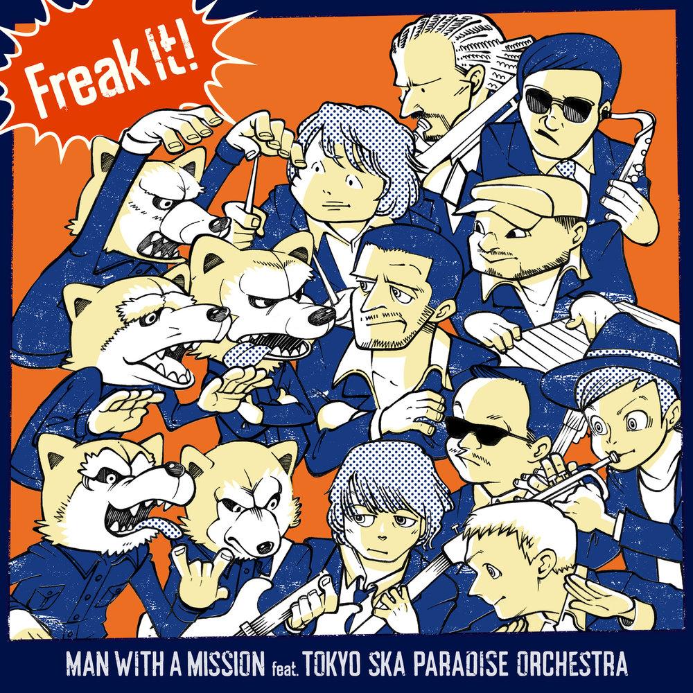 Новый сингл MAN WITH A MISSION - Freak It!