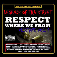 Legends of tha Street: Respect Where We from Mixtape, Vol.1 — Jes Latino