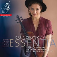 Dana Zemtsov - Essentia — Estonian National Symphony Orchestra, Various Composers, Daniel Raiskin, Dana Zemtsov, Jared Sacks