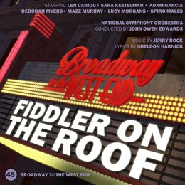 Fiddler on the Roof — Jerry Bock, John Owen Edwards, National Symphony Orchestra, All Star Cast