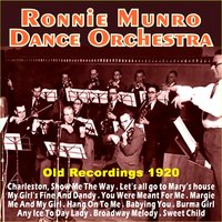 Old Recordings 1920 — Ronnie Munro Dance Orchestra