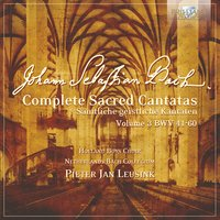 J.S. Bach: Complete Sacred Cantatas Vol. 03, BWV 41-60 — Ruth Holton, Marjon Strijk, Knut Schoch, Marcel Beekman, Nico van der Meel, Sytse Buwalda, Bas Ramselaar, Holland Boys Choir, Netherlands Bach Collegium & Pieter Jan Leusink, Иоганн Себастьян Бах