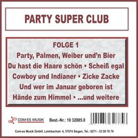 Party Super Club, Folge 1 — сборник