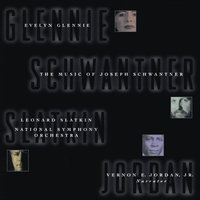 Schwantner: Concerto For Percussion & Orchestra/New Morning for the World — National Symphony Orchestra, Evelyn Glennie