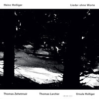 Holliger: Lieder ohne Worte — Thomas Zehetmair, Ursula Holliger, Thomas Larcher