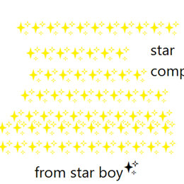 Star Comp — AMG, Star Boy