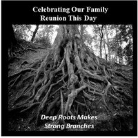 Celebrating Our Family Reunion This Day — Birdie M. Jones
