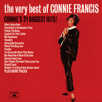 The Very Best Of Connie Francis - Connie's 21 Biggest Hits — Connie Francis