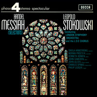 Handel: Messiah — John Cameron, London Symphony Orchestra (LSO), Sheila Armstrong, Leopold Stokowski, London Symphony Chorus, Sir Philip Ledger