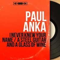I Never Knew Your Name / A Steel Guitar and a Glass of Wine — Paul Anka, Ray Ellis and His Orchestra