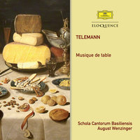 Telemann: Musique De Table — August Wenzinger, Orchestra of the Schola Cantorum Basiliensis