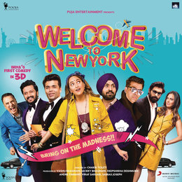 Welcome to NewYork — Shamir Tandon, Sajid Wajid, Meet Bros