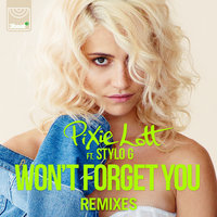 Won't Forget You — Pixie Lott, Stylo G