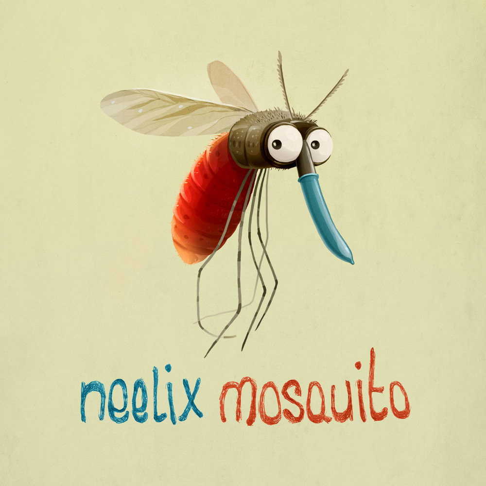 Комары картинки смешные