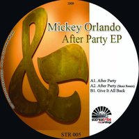 After Party EP — Mickey Orlando