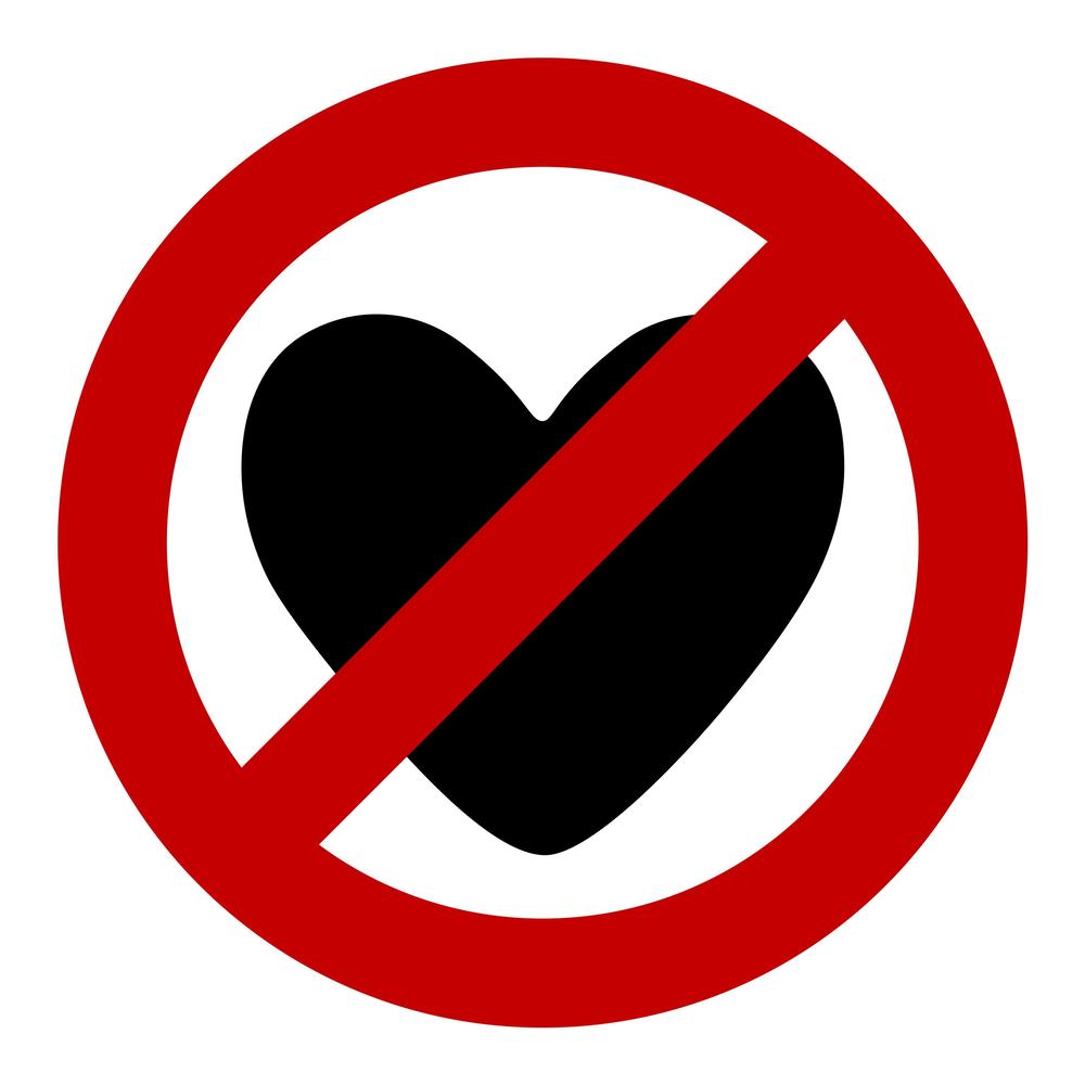 ставка сердце перечеркнутое крестом фото показалась всех