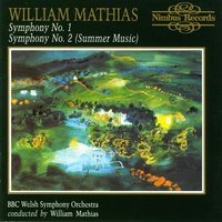 Mathias: Symphonies Nos. 1 & 2 — William Mathias, BBC Welsh Symphony Orchestra