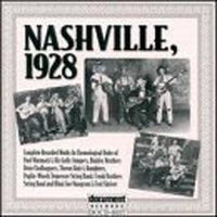 Nashville, 1928 — Various Artists - Document Records
