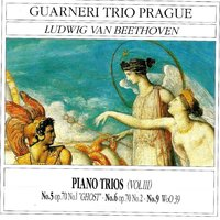 Ludwig Van Beethoven: Piano Trios, Vol. 3 — Людвиг ван Бетховен, Pierre Barbier, Guarneri Trio Prague, Pierre Barbier, Guarneri Trio Prague