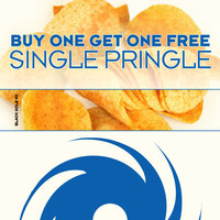 Single Pringle — Buy One Get One Free
