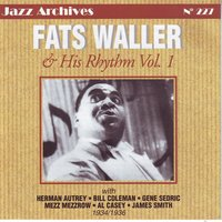 Fats waller and his rhythm volume 1 — Fats Waller