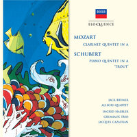 "Mozart: Clarinet Quintet in A; Schubert: Piano Quintet in A - ""Trout"" — Jack Brymer, Ingrid Haebler, Jacques Cazauran, Grumiaux Trio, The Allegri String Quartet"