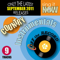 September 2011 Country Hits Instrumentals — Off the Record Instrumentals