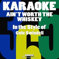 Ain't Worth the Whiskey (In the Style of Cole Swindell) - Single — Karaoke All Hits