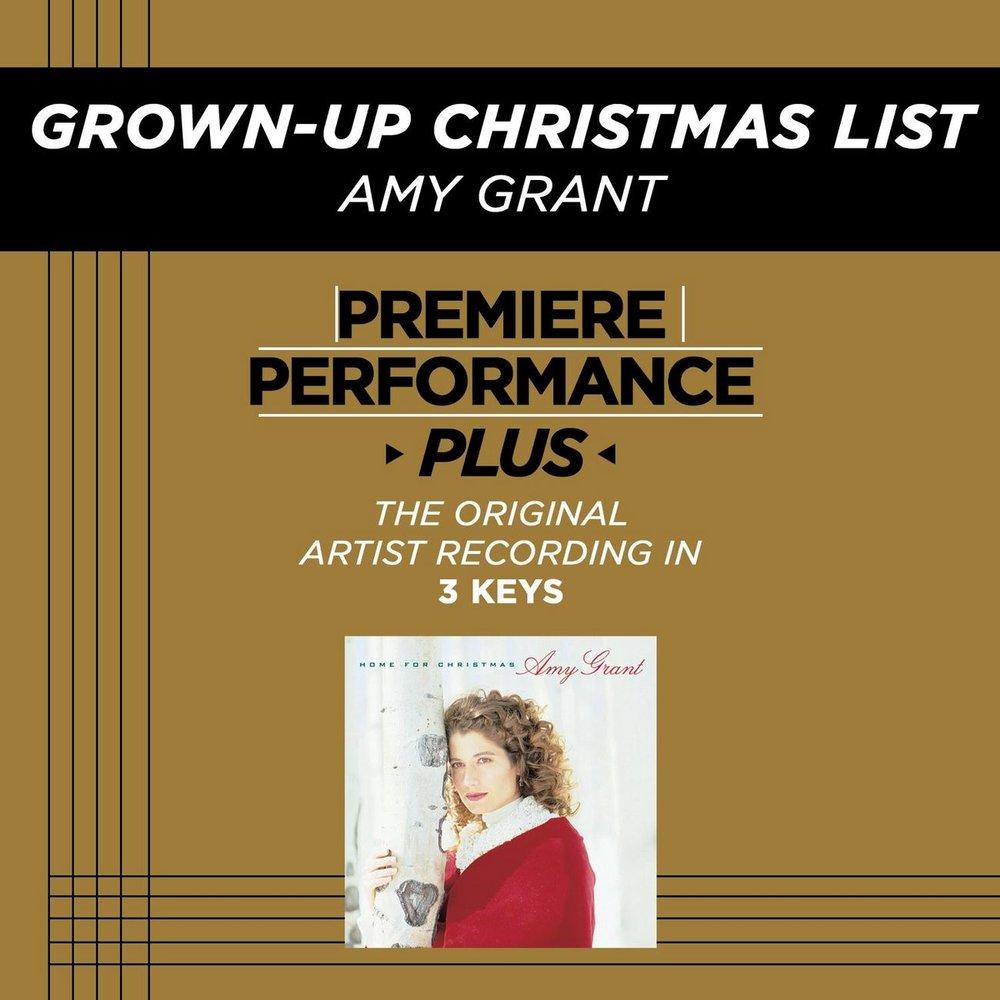 grown up christmas list amy grant - Amy Grant Grown Up Christmas List