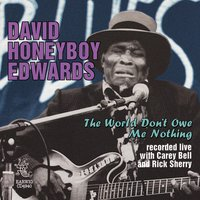 "The World Don't Owe Me Nothing — David ""Honeyboy"" Edwards"