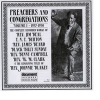 Preachers And Congregation Vol. 1 (1927-1938) — Various Artists - Document Records