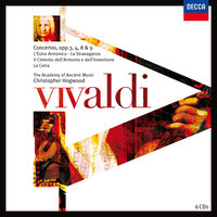 Vivaldi: Concerti Opp.3,4,8 & 9 — The Academy of Ancient Music [Orchestra], Christopher Hogwood, The Academy of Ancient Music