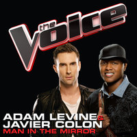 Man In The Mirror — Javier Colon, Adam Levine