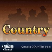 The Karaoke Channel - Country Hits of 1989, Vol. 10 — Karaoke
