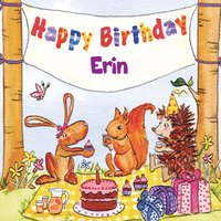 Happy Birthday Erin — The Birthday Bunch