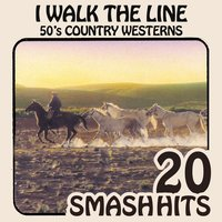 50's Country Western - I Walk The Line — Bobby Helms