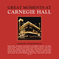 Great Moments at Carnegie Hall — сборник