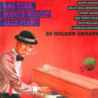 Rag Time, Boogie Woogie Jazz Piano — Nat King Cole