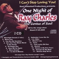 One Night Of Ray Charles - The Genius Of Soul — A Friend Of Ray Charles
