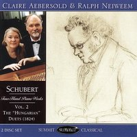 Schubert Four-Hand Piano Works Vol. 2 — Claire Aebersold & Ralph Neiweem, Франц Шуберт