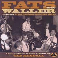 Vol. 6 Of The Complete Recorded Works A — Fats Waller